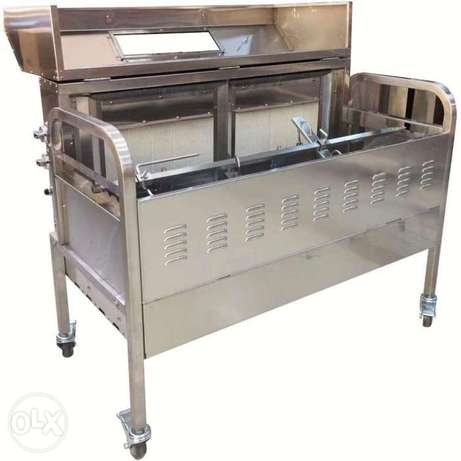 GRACE Full Stainless Steel Commercial Gas Rotisserie & Barbecue Grill