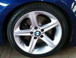 Bmw 18 inch mags with tyres