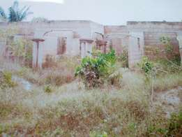 Uncomplete 5 Bedroom House at Kumasi