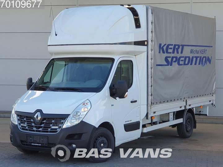 Renault Master 2.3 dCI 165pk Pritsche Plane Topsleeper Klima 21m3... - 2016
