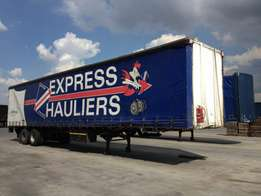 Pantech trailers at a bargain price.