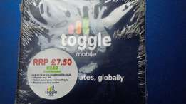 Toggle mobile SIM you can add 9 more numbers free of your choice