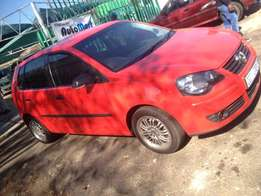 2007 polo 1.6 red colour 91000km R75000