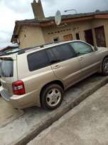 accident free 2005 highlander 3roll