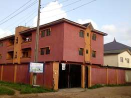 Building of Twelve unit of three bedroom with c of o at Ikotun/isheri