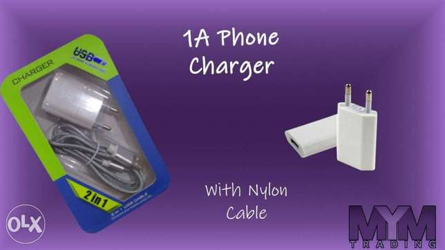 Phone Charger 1A With Cable