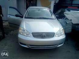 My super clean Toyota corolla 04 toks urgently for sale