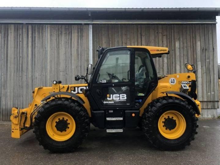 JCB 560-80 Agri Super - 2016