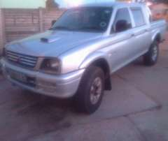 Mitsubishi colt backie still in a good condition