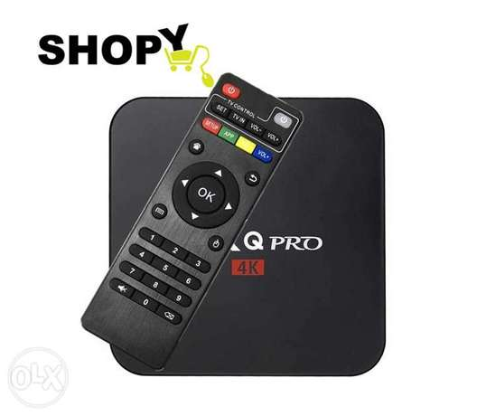 MXQ PRO 4K Android TV Box Quad Core Amlogic Set Top Box WiFi 1G 8G
