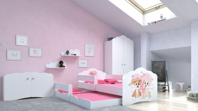 łóżko Dziecięce Podwójne 140x70 Materace Gratis Dostawa