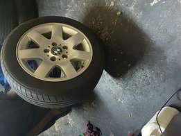 Bmw rims with tyres