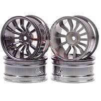 RC 1/10 On-road Racing Black Wheel Rim Drift