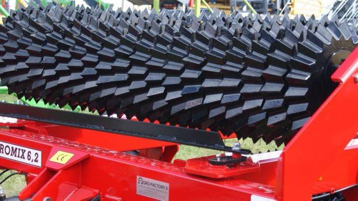 Top-Agro 6m, Heavy Duty Prism Roller - Aggressive 530 Mm - 2019