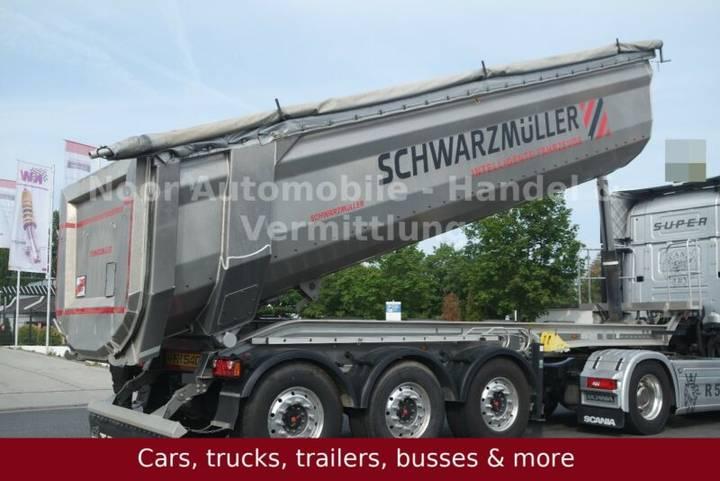 Schwarzmuller SK Vollaluminium-Segmentmulde 28m³ *nur 5050 kg - 2017
