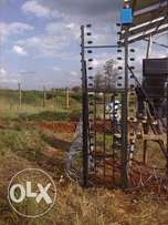 Electric fence in kenya, razor wire in kenya, electric fence systems i