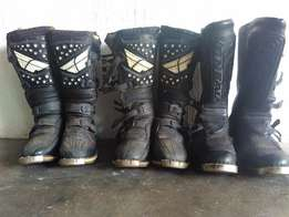Motocross Boots, Shirts, Body Armour