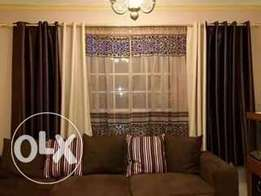 Elegant Curtains and sheers