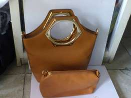 Brown 2 in 1 Handbag