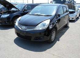 Nissan note black brand new car