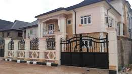Newly Built 3bedroom Flat Upstairs Separate Staircase at egbeda isheri