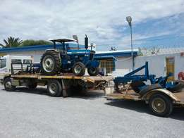 FORD 6600 rebuild with implements going to Africa.