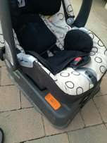Peg Perego car seat and base for sale