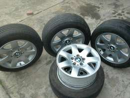 2x sets of bmw rims for sale