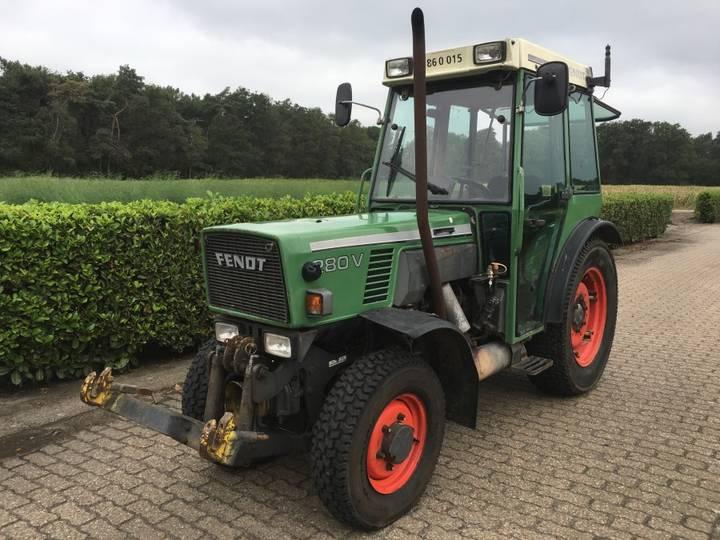 Fendt 280 VA smalspoor tractor - 2000
