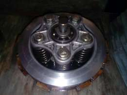 Complete clutch assembly 125cc zongshen