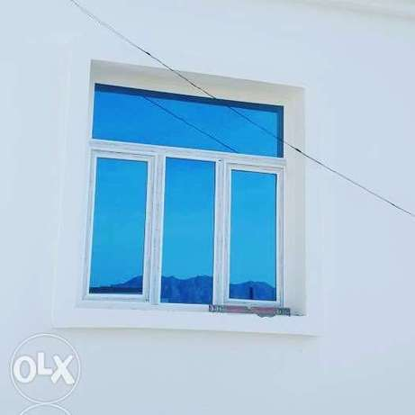 Sale UPVC window and doors and almunium window and door and cotonwoll