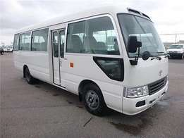 Just arrived very clean Toyota coaster bus on sale
