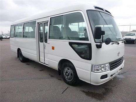 Just arrived very clean Toyota coaster bus on sale Nairobi CBD - image 1