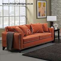 The Orange Two Seater from Chivalry Designs for only R4900