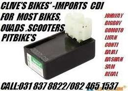 cdi units for all bikes scooters,roadbikes,scooters,superbikes