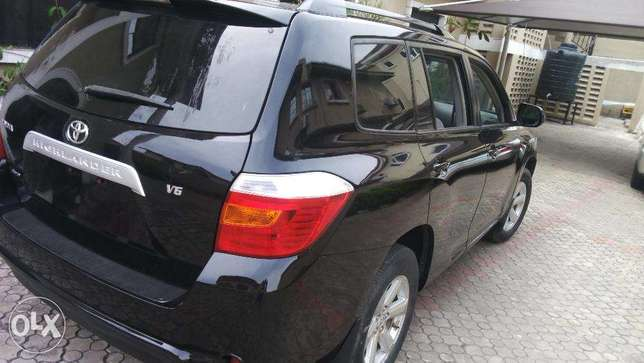 super clean tokunbo toyota highlander 2008 model for 5.2m Lekki - image 1