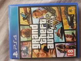 PS4 Grand theft auto gta game