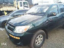 A very clean 2006 Toyota Hilux manual double cab for sale