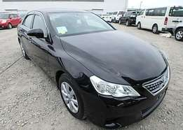 2012 Toyota Mark X 250G F PACKAGE.