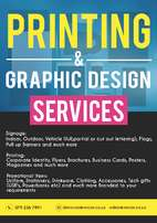 Printing services: Signage, Printing and Promotional Items