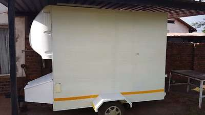 Box Trailer This trailer was used for model Airplanes Pretoria West - image 1