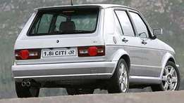 Cash buyer for Citi Golf