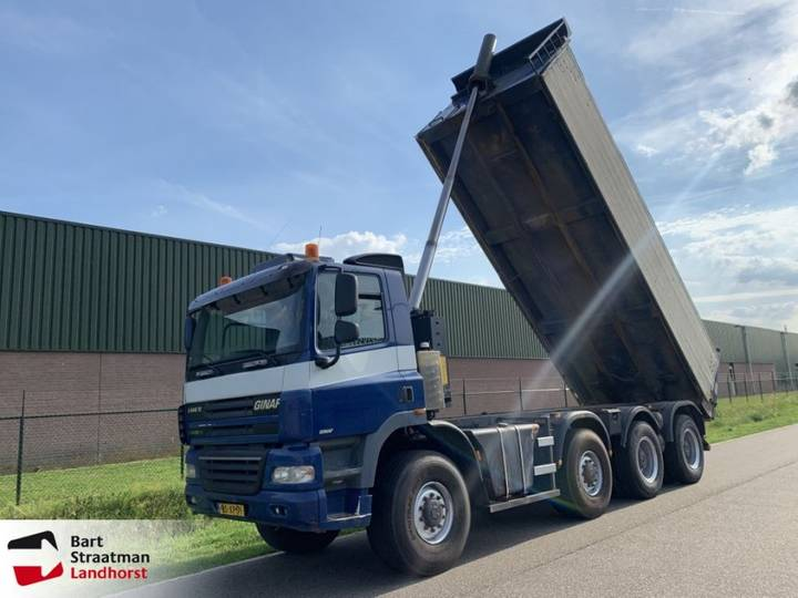 Ginaf X 4446 TS 8x8 manual euro 5 tipper - 2007