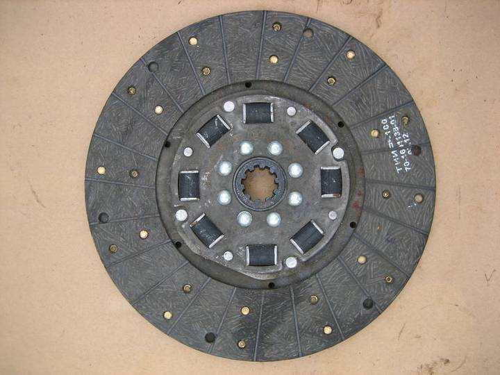Belarus New LVOVSKII MTZ-GAZ  clutch plate for LVOVSKII 40814, - 2017