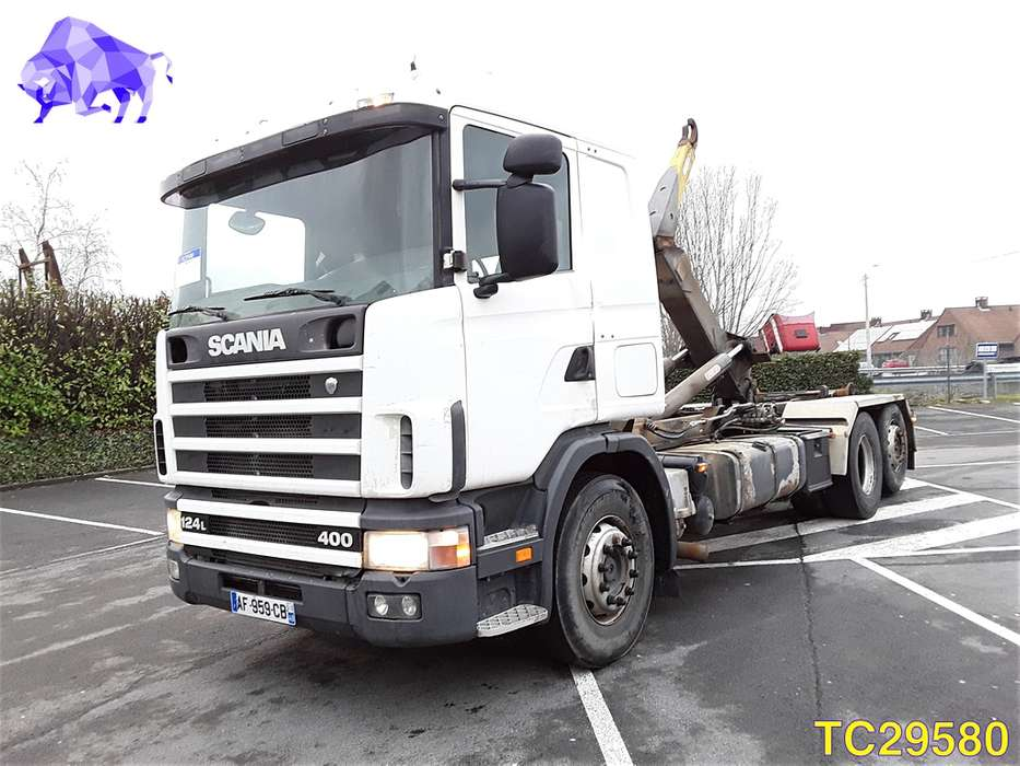 Scania 124 400 RETARDER - 1998