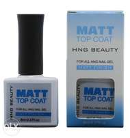 matt gel top coat