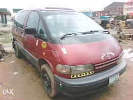 Toyota previa manual with a/c working
