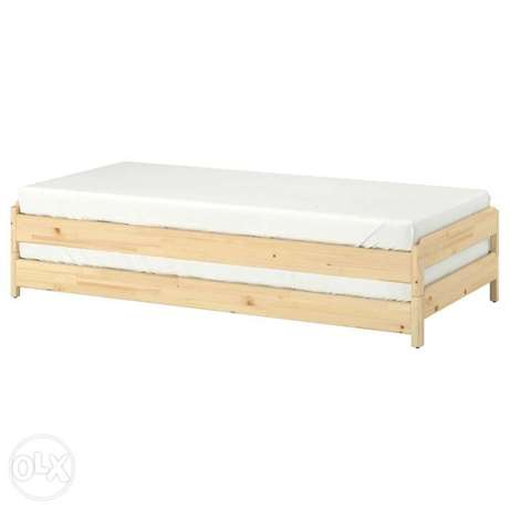 ikea stackable bed used hardly 1month