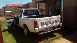Hi I'm selling my mazda 323 bakkie you start and go