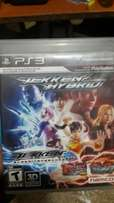 Playstation 3 TEKKEN HYBRID blood vengence HD